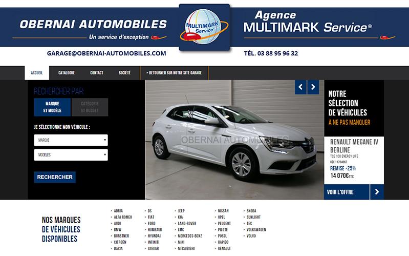 accès catalogue de voitures